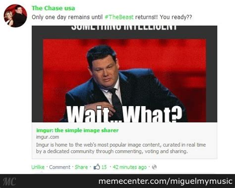 Chase Meme - the official quot the chase us quot facebook page features the reaction gif i made a while back by