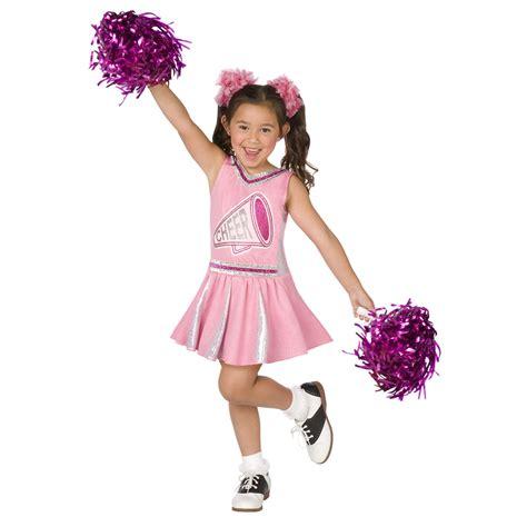 Buy Pink Cheerleader Child Costume