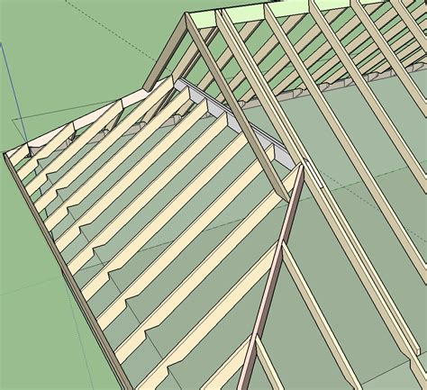 gable roof frame truss plugin extension extensions sketchup community