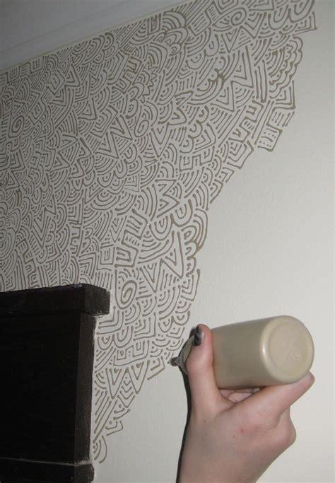 Jugendzimmer Wandgestaltung Farbe Mädchen Jugendzimmer