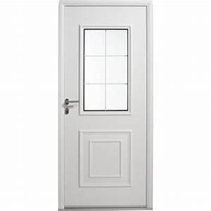 Porte D39entre Aluminium Utah ARTENS Poussant Gauche H