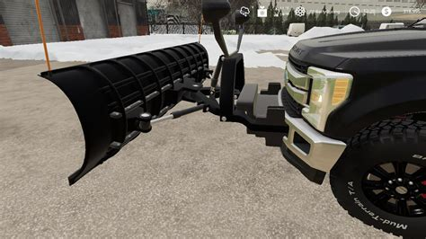 ford  snow plow  ls farming simulator  mod