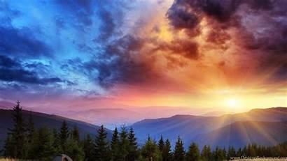 Scenery 4k Wallpapers Landscape Sunrise Desktop Background