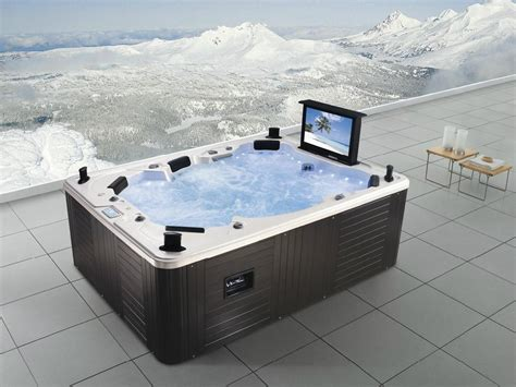 Monalisa Luxury Outdoor Spa Jacuzzi With Tv M-3342 (china