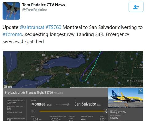 www crash aerien aero d 233 routement cause technique d un avion de air transat