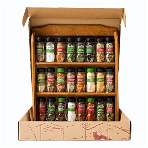 24 Spice Rack by New Mccormick Gourmet Spice Rack Three Tier Wood 24 Count