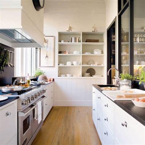 how to organize a galley kitchen แบบห องคร วท นสม ย คร วไทยประย กต สบายตาด วยส ขาว บ าน 8762