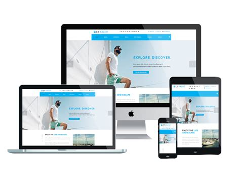 What Is A Responsive Template by Et Yacht Free Responsive Yacht Joomla Template