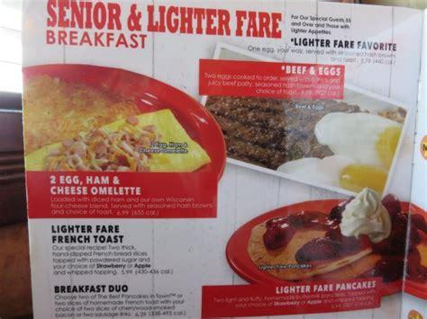 country kitchen ontario oregon senior lighter fare menu picture of country kitchen 6109