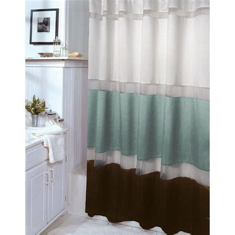 aqua and brown shower curtains modern home exteriors