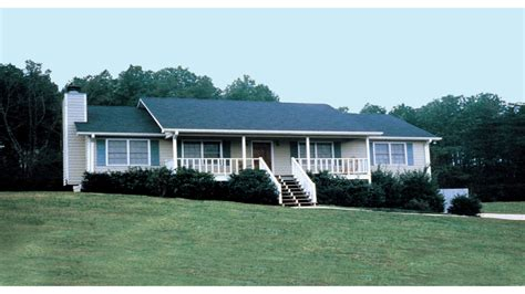 Ranch House Plans With Front Porch Open Ranch Style House