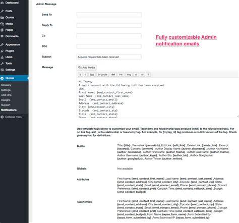 request  quote wordpress plugin wordpressorg