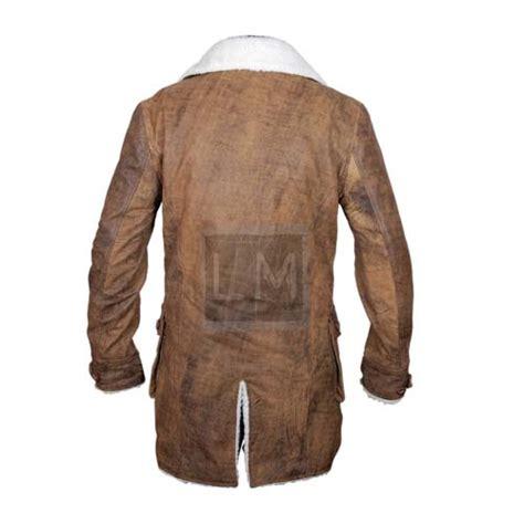 Cowhide Coat by New Bane Coat Distressed Brown Cowhide Leather Jacket