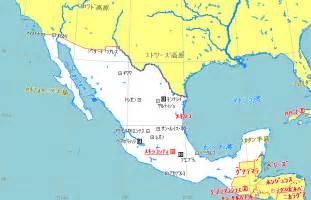 メキシコ:メキシコ地図