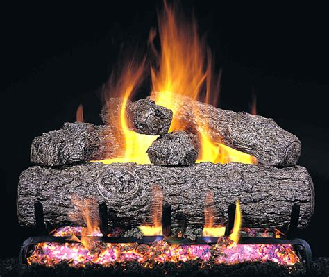 gas logs for fireplace r h peterson rg45 42 ss 42 quot golden oak vented gas logs
