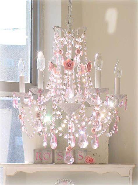 25 best ideas about pink chandelier on