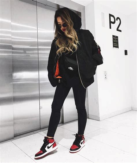 Cooles Streetwear Outfit für Frauen! All Black Look und