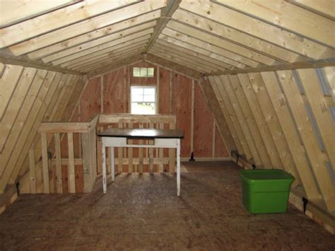 interior  story gambrel roof wood tex products
