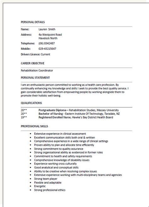 free resume templates new zealand resume templates pinterest template and cv template