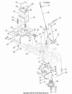 Mtd 13ax605g755  2006  Parts Diagram For Pto Manual 42 Inch