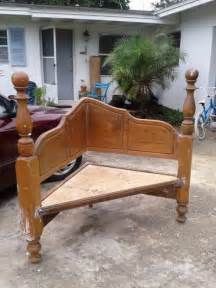 Sleigh Bench Seat by 32 New Upcycled Diy Ideas For Old Headboards Big Diy Ideas