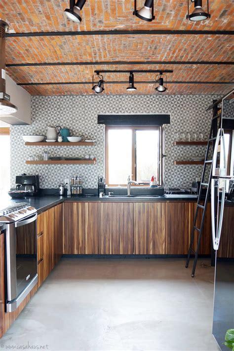 renovacion de cocina estilo rustico industrial casa haus