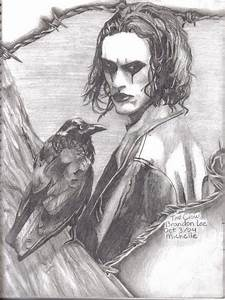 'The Crow' Brandon Lee by redninja on DeviantArt