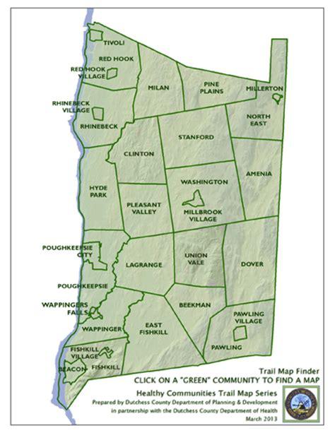 dutchess county  york map