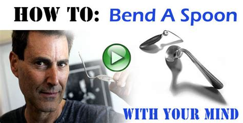 how to bend a spoon with your mind telekinesis video