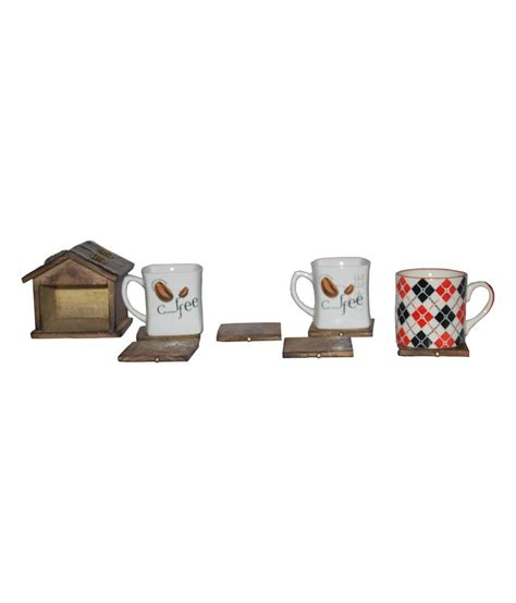 The room was very spacious, comfortable and very nicely decorated. Indoart Coaster Hut With Brass Carving for tea coffee mug cup: Buy Online at Best Price in India ...
