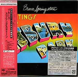 "CD: Japanese ""Greetings from Asbury Park, NJ"" mini-LP ..."