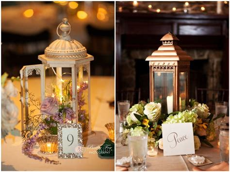 rustic lantern wedding decoration ideas  light