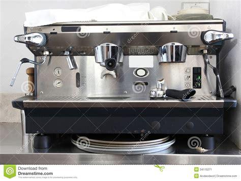 Professional Coffee Machine Stock Image   Image: 34115271