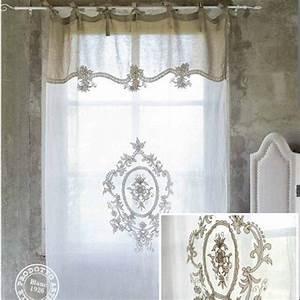 Rideau Dentelle Romantique : 169 best images about brises bise stores rideaux on pinterest ~ Teatrodelosmanantiales.com Idées de Décoration
