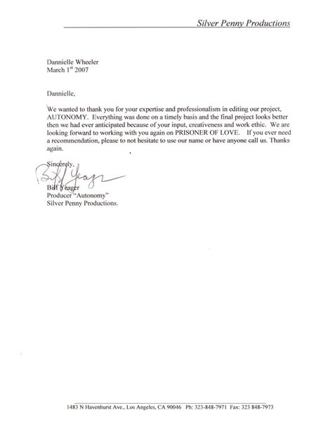 professional recommendation letter custom college papers