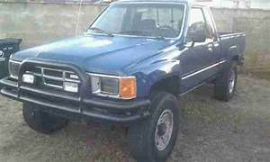 Find Used 1986 Toyota Pickup 4x4 Xtra T