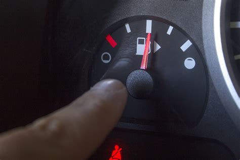 fix  stuck fuel gauge   runs