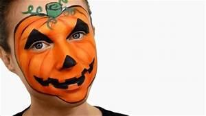 Maquillage Enfant Facile : maquillage citrouille d 39 halloween effrayante youtube ~ Melissatoandfro.com Idées de Décoration