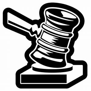 Clipart Justice Hammer Royalty Free Vector Design Law ...