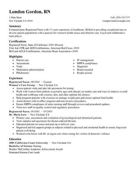 Registered Resumes by Resume Exles Registered Exles