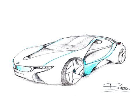 futuristic cars drawings bmw concept car sketch by vladbucur on deviantart