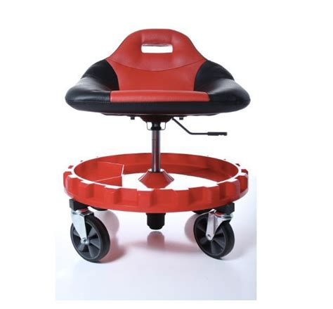 mechanics stool with wheels rolling shop chair adjustable