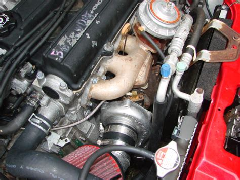 Turbocharger For Honda Civic Si by 2000 Honda Civic Si Mr Em1 Turbonetics Turbo Kit