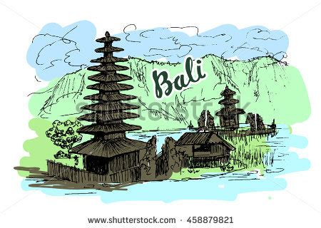 bali tourist stock vectors images vector art shutterstock