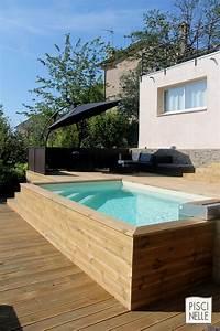 Piscine En Bois Hors Sol : piscine hors sol piscinelle ~ Dailycaller-alerts.com Idées de Décoration