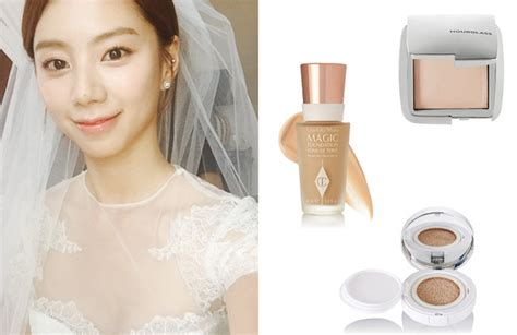 7 Popular Korean Bridal Hair & Makeup Styles Revealed! Wedding Poses Book Day Quotes To Parents City Flats Venue At Night Michaelangelo Happy For Looking Back On Bouquets-roses And Hydrangeas