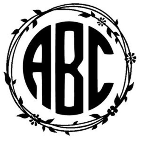circle monogram font      monogram generator    font