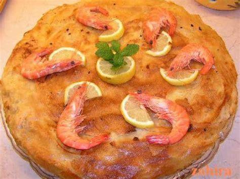 recette de cuisine 750g recette pastilla au poisson et aux fruits de mer rapide