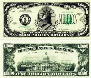 looking for money templates 2007 all windows With million dollar bill template