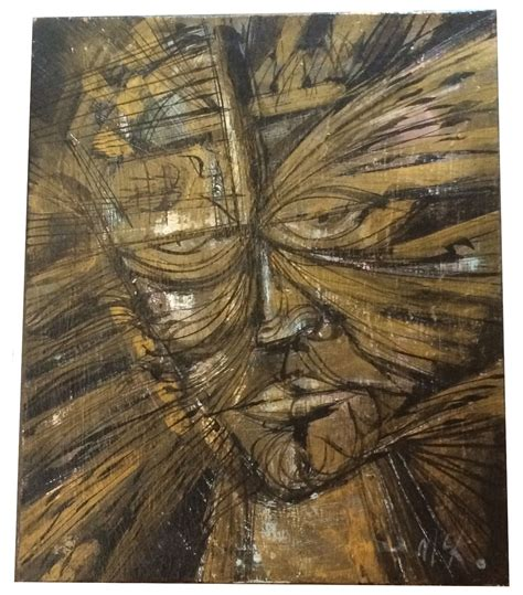Abstract Black Gold Painting by Abstract Painting With Black And Gold Tones Modernism